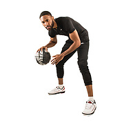 Basketball Life:  Studio shoot with basketball player, Damon Harvin in Downtown Los Angeles, California on January 30, 2018.  ©Michael Der, All Rights Reserved.  Please contact Michael Der for all licensing requests.