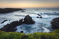 Twilight over Mendocino Headlands, California