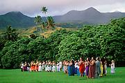 Hula festival, Hana Coast, Maui