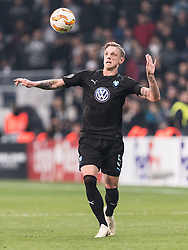 Soren Rieks of Malmo FF during the UEFA Europa League group I match between between Besiktas AS and Malmo FF at the Besiktas Park on December 13, 2018 in Istanbul, Turkey