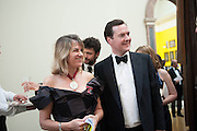TRACEY EMIN; GEORGE OSBORNE, Royal Academy Annual Dinner 2013. Piccadilly. London. 4 June 2013.