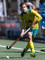 Jacob Whetton of Australia during the Champions Trophy finale between the Australia and India on the fields of BH&BC Breda on Juli 1, 2018 in Breda, the Netherlands.