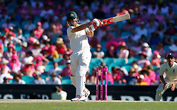 Australia's Mitchell Marsh in action during day two of the Ashes Test match at Sydney Cricket Ground.