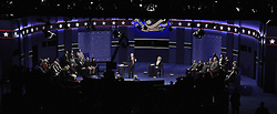 Das zweite TV-Duell: Hillary Clinton und Donald Trump beim Town Hall Meeting in St. Louis / 091016 *** The second debate between the Republican and Democratic presidential candidates Clinton / Trump at Washington University in St. Louis, Mo.; Ocober 9th, 2016 ***