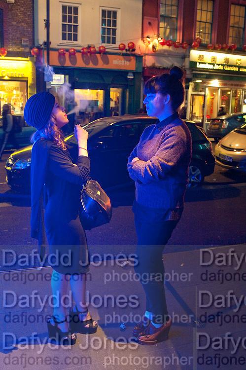 AMANDA CEPERO; SOLO JAMES;  The launch screening of ÔAnimal CharmÕ  and ÔSusie LovittÕ - W hotel leicester sq. London. 31 January 2012.<br /> AMANDA CEPERO; SOLO JAMES;  The launch screening of 'Animal Charm'  and 'Susie Lovitt' - W hotel leicester sq. London. 31 January 2012.