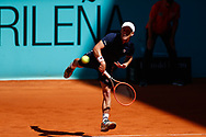 Diego Schwartzman of Argentina in action during his Men's Singles match, round of 32, against Alan Karatsev of Russia on the Mutua Madrid Open 2021, Masters 1000 tennis tournament on May 5, 2021 at La Caja Magica in Madrid, Spain - Photo Oscar J Barroso / Spain ProSportsImages / DPPI / ProSportsImages / DPPI