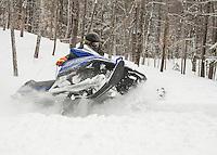 Snowmobiling with Tom.  ©2105 Karen Bobotas Photographer