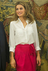 Letizia, Princess of Asturias at Zarzuela Palace in Madrid, Friday, 21st September 2012. Photo by:  Belen Diaz / DyD Fotografos / i-Images