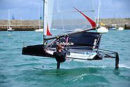 Moth Sailing Dun Laoghaire