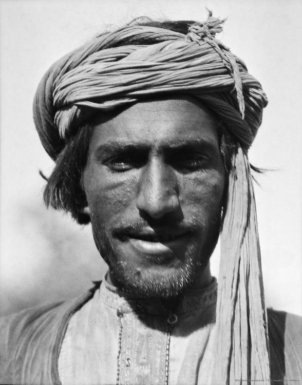 Afridi Type, Peshawar, India, 1929