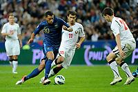 FOOTBALL - FIFA WORLD CUP 2014 - QUALIFYING - FRANCE v BIELORUSSIA - SAINT DENIS (FRANCE) - 11/09/2012 - PHOTO JEAN MARIE HERVIO / REGAMEDIA / DPPI - ETIENNE CAPOUE (FRA)