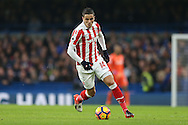 Ibrahim Afellay of Stoke City in action. Premier league match, Chelsea v Stoke city at Stamford Bridge in London on Saturday 31st December 2016.<br /> pic by John Patrick Fletcher, Andrew Orchard sports photography.