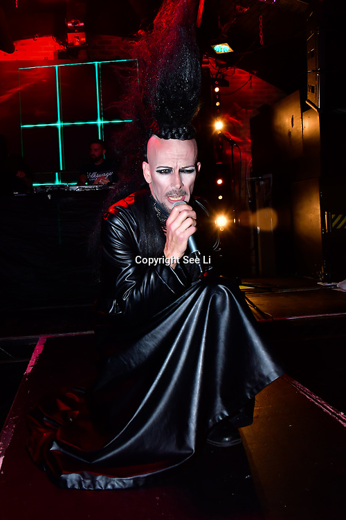 """Ross Alexander   performs at The Third Annual Integrity Awards by Dragon Lady Productions and The Peace Project 21st """"The Alternative Fashion Integrity Awards 2019 & Film Networking Soirée"""" on 21 September 2019, Fire Club Vauxhall, London, UK."""