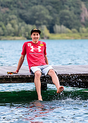 22.05.2017, Kalterer See, Kaltern, ITA, OESV, Nordische Kombinierer, Trainingskurs Kaltern, im Bild Mario Seidl // during a Trainingscamp of Austrian Nordic Combined Team at the Kalterer Lake, Kaltern, Italy on 2017/05/22. EXPA Pictures © 2017, PhotoCredit: EXPA/ JFK