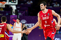 Boban Marjanovic of Serbia during basketball match between National Teams of Russia and Serbia at Day 16 in Semifinal of the FIBA EuroBasket 2017 at Sinan Erdem Dome in Istanbul, Turkey on September 15, 2017. Photo by Vid Ponikvar / Sportida