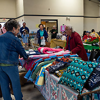 Crowds come out to check out the local talent at this years Recycled Crafts Fair in Gallup on November 2, 2019.