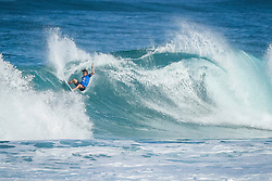 December 11, 2017 - Hawaii, U.S. - Conner Coffin (USA) placed  1st  in Heat 3 of  Round One at the Billabong Pipe Masters 2017 on the North Shore of Oahu. (Credit Image: © Kelly Cestari/WSL via ZUMA Wire)