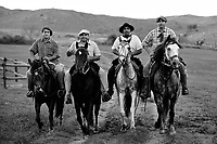 Gauchos on the ranch, Cordoba, Argentina