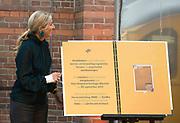 DEN HAAG, 30-09-2021, De Remise<br /> <br /> Koningin Maxima bij de lancering van het Manifest Hoofdzaken in De Remise in Den Haag. Het manifest is een initiatief van de Hersenstichting, MIND en ZonMw waarin zij pleiten voor het opzetten van een nationaal kennis- en innovatieprogramma voor hersen- en/of psychische gezondheid. FOTO: Brunopress/Patrick van Emst<br /> <br /> Queen Maxima at the launch of the Main Matters Manifesto in De Remise in The Hague. The manifesto is an initiative of the Brain Foundation, MIND and ZonMw in which they advocate setting up a national knowledge and innovation program for brain and/or psychological health.