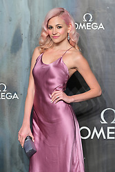 Pixie Lott attending the Lost in Space event to celebrate the 60th anniversary of the OMEGA Speedmaster held in the Turbine Hall, Tate Modern, 25 Sumner Street, Bankside, London.