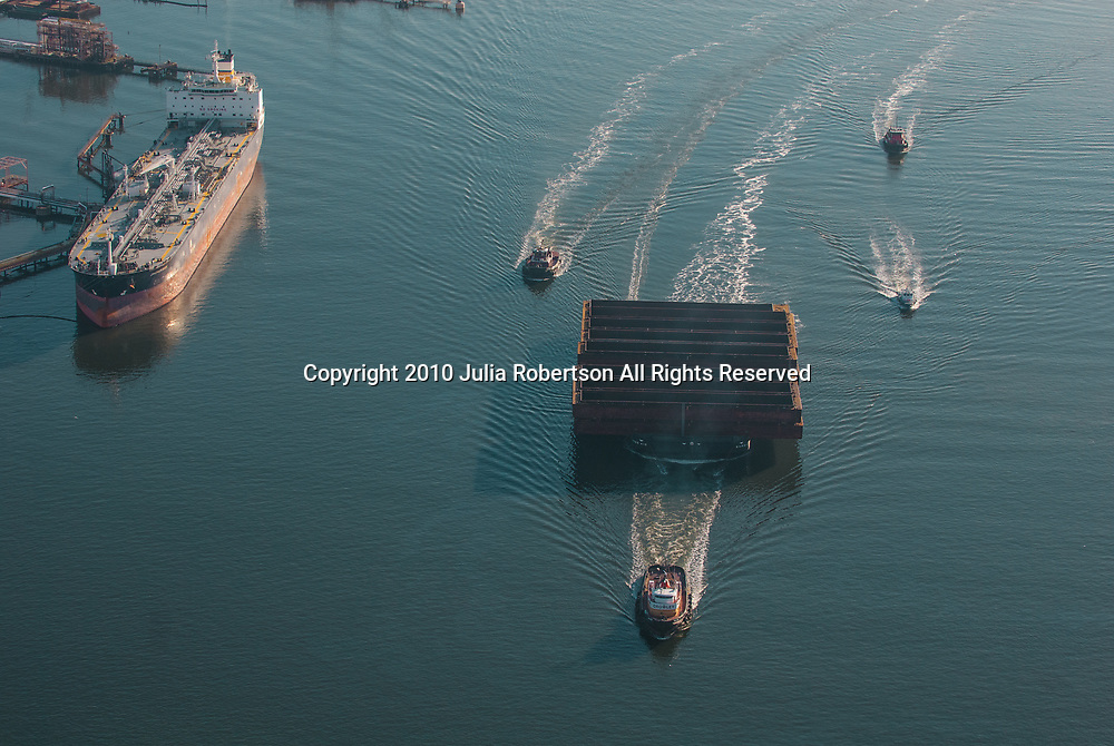 aerial view of the Crowley's Tugboat Ranger