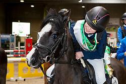 Notelé Roos, BEL, Farina<br /> Nationaal Indoor Kampioenschap Pony's LRV <br /> Oud Heverlee 2019<br /> © Hippo Foto - Dirk Caremans<br /> 09/03/2019