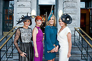 Mandy Maher Catwalk Models, Mary Maguire,  Brown Thomas, Mary Lee, catwalk, and Fashionista Marietta Doran at the Most Stylish Lady event on ladies day of The Galway Races. Photo:Andrew Downes