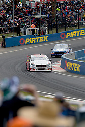 October 7, 2018 - Bathurst, NSW, U.S. - BATHURST, NSW - OCTOBER 07: Will Davison / Alex Davison in the Milwaukee Racing Ford Falcon head across the mountain as fans watch on at the Supercheap Auto Bathurst 1000 V8 Supercar Race at Mount Panorama Circuit in Bathurst, Australia.  (Photo by Speed Media/Icon Sportswire) (Credit Image: © Speed Media/Icon SMI via ZUMA Press)