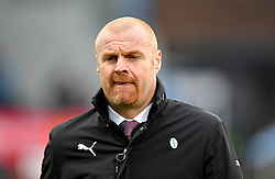 Burnley manager Sean Dyche during the Emirates FA Cup, third round match at Turf Moor, Burnley.