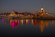 Long Beach Rainbow Harbor at Night
