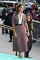 Jenna Coleman, V&A Summer Party, Victoria and Albert Museum, London UK, 22 June 2016, Photo by Richard Goldschmidt