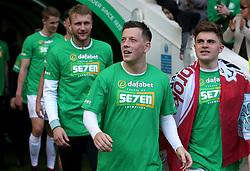 Celtic's Callum McGregor after the Ladbrokes Scottish Premiership match at Celtic Park, Glasgow.