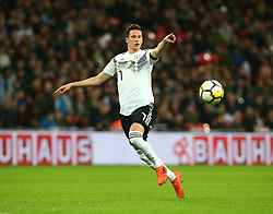 November 10, 2017 - London, England, United Kingdom - Julian Draxler of Germany ..during International Friendly match between England  and Germany  at Wembley stadium, London  on 10 Nov  , 2017  (Credit Image: © Kieran Galvin/NurPhoto via ZUMA Press)