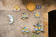 Traditional ceramic art by famous steps of Scala Santa Maria del Monte stairway at Caltagirone,Sicily