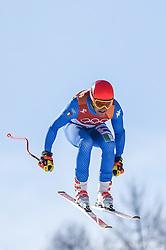 February 15, 2018 - Jeongseon, Gangwon, South Korea - Christof Innerhofer of Italy competing in mens downhill at Jeongseon Alpine Centre at Jeongseon , South Korea on February 15, 2018. (Credit Image: © Ulrik Pedersen/NurPhoto via ZUMA Press)