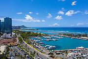 Kewalo Basin, Ala Moana Beach Park, Honolulu, Oahu, Hawaii