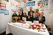 24/11/2019 repro free:  Paul Mee Chairman Galway  Science and Technology Festival with  St Vincents NS at the exhibition day of the Galway Science and Technology Festival at NUI Galway where over 20,000 people attended exhibition stands  from schools to Multinational Companies . Photo:Andrew Downes, xposure