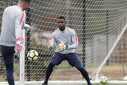 March 20, 2018 - Raleigh, NC, USA - Raleigh, NC - March 20, 2018: The USMNT Training at WakeMed Soccer Park. (Credit Image: © John Dorton/ISIPhotos via ZUMA Wire)