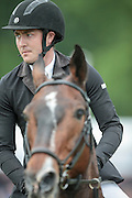 NOTA BENE ridden by Tim Cheffings during the final jumping event at Bramham International Horse Trials 2016 at  at Bramham Park, Bramham, United Kingdom on 12 June 2016. Photo by Mark P Doherty.