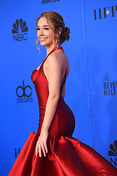 January 6, 2019 - Los Angeles, California, U.S. - Holly Taylor in the Press Room during the 76th Annual Golden Globe Awards at The Beverly Hilton Hotel. (Credit Image: © Kevin Sullivan via ZUMA Wire)
