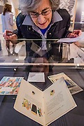 A version is used to promote the health benefits of Guinness to doctors - Alice in Wonderland  - a celebration of the 150th anniversary of the publication of Alice's Adventures in Wonderland. This new exhibition at the British Library explores how Alice has captured readers imaginations for so many years.  Although the story has been adapted, appropriated, re-imagined and re-illustrated since its conception, people are still enchanted by Carroll's original, which continues to inspire new generations of writers and illustrators. Highlights of the show include Lewis Carroll's original manuscript with hand-drawn illustrations, alongside stunning editions by Mervyn Peake, Ralph Steadman, Leonard Weisgard, Arthur Rackham, Salvador Dali and others.