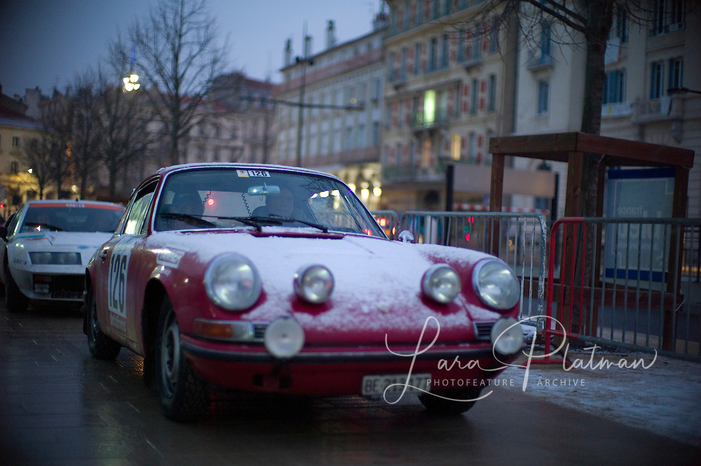 photographs of the 13th Monte Carlo Rally
