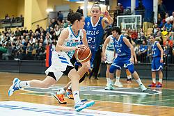 Nika BARIČ of Slovenia during basketball match qualifications for European Championship, round 1, between national teams Slovenia and Greece in Arena Celje - Center, 14. November, Ljubljana, Slovenia. Photo by Grega Valancic / Sportida