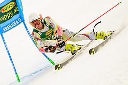 March 9, 2019 - Kranjska Gora, Kranjska Gora, Slovenia - Axel Esteve of Andora in action during Audi FIS Ski World Cup Vitranc on March 8, 2019 in Kranjska Gora, Slovenia. (Credit Image: © Rok Rakun/Pacific Press via ZUMA Wire)