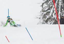 Zan Groselj (SLO) competes during 1st Run of 10th Men's Slalom race of FIS Alpine Ski World Cup 55th Vitranc Cup 2016, on March 6, 2016 in Podkoren, Kranjska Gora, Slovenia. Photo by Vid Ponikvar / Sportida