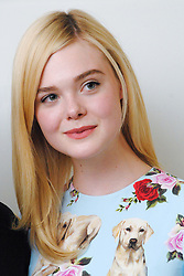 """Elle Fanning at the Hollywood Foreign Press Association press conference for """"The Beguiled"""" held in Los Angeles, CA on June 11, 2017. (Photo by: Yoram Kahana/Shooting Star) NO TABLOID PUBLICATIONS. NO USA SALES UNTIL JULY 11, 2017 *** Please Use Credit from Credit Field ***"""