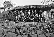 A platoon of FMLN guerrillas pose in El Salvador.