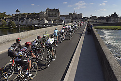 October 9, 2016 - Tours, FRANCE - TOURS, FRANCE - OCTOBER 9 :  The peleton passes in front of the Castle of Amboise during  the 110th edition of the Paris-Tours cycling race with start in Dreux and finish in Tours on October 09, 2016 in Tours, France, 9/10/2016 (Credit Image: © Panoramic via ZUMA Press)