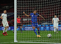 Football - 2022 FIFA World Cup - European Qualifying - Group I - England vs San Marino - Wembley Stadium<br /> <br /> Dominic Calvert - Lewin of England scores goal no 4<br /> <br /> Credit : COLORSPORT/ANDREW COWIE