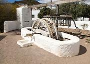 Historic communal well, El Pozo de los Frailes,  Cabo de Gata national park, Spain